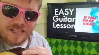BROCKHAMPTON - IF YOU PRAY RIGHT // easy guitar lesson tabs easy chords strumming beginner