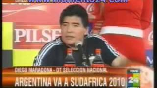 Maradona  Que la sigan chupando