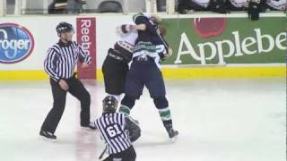 Gwinnett Gladiators: Berti vs Zanon - 12-27-2009