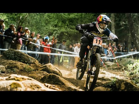 Downhill MTB Racing Highlights from Lourdes  UCI Mountain Bike World Cup 2017
