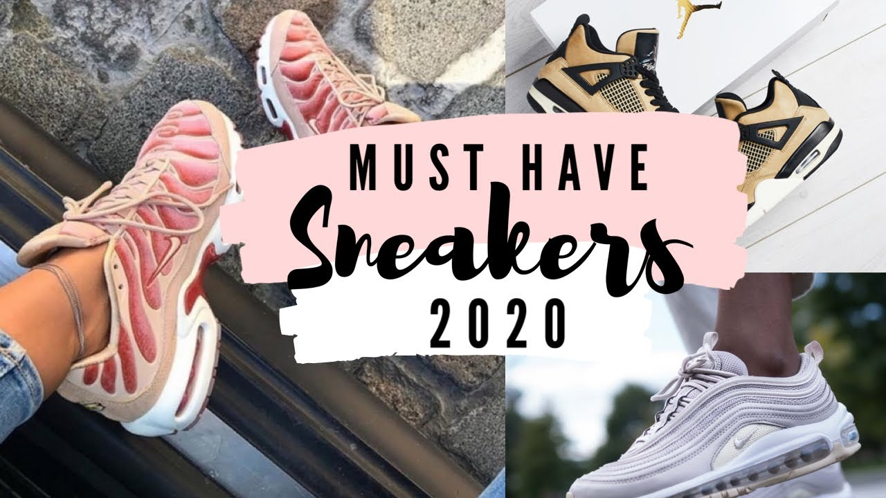 Puntualidad escribir una carta Útil  MUST HAVE NIKE SNEAKERS 2020 | Women's Top 10 Collection - YouTube