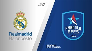 Real Madrid - Anadolu Efes Istanbul Highlights | Turkish Airlines EuroLeague, RS Round 21