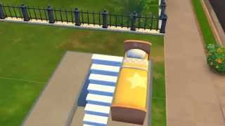 Sims 4 How to create bunk-beds