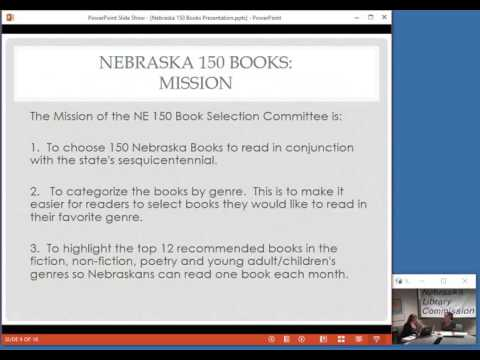 NCompass Live: Nebraska 150 Books