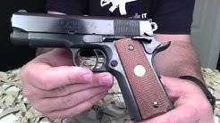 Colt Officers Model 45ACP 1911 Pistol Overview - Texas Gun Blog
