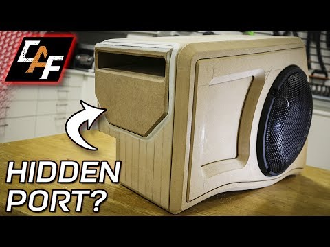 Why hide the port? - Subwoofer Box Build Jeep - CarAudioFabrication