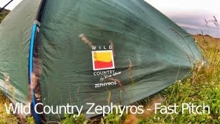 Wild Country - Zephyros 1 Tent - Fast Pitching Video :-)