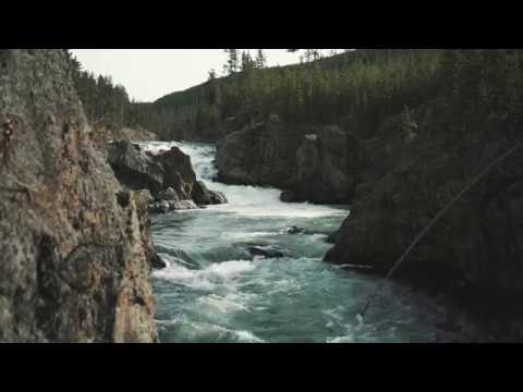 Fly fishing the Firehole River in Yellowstone National Park.