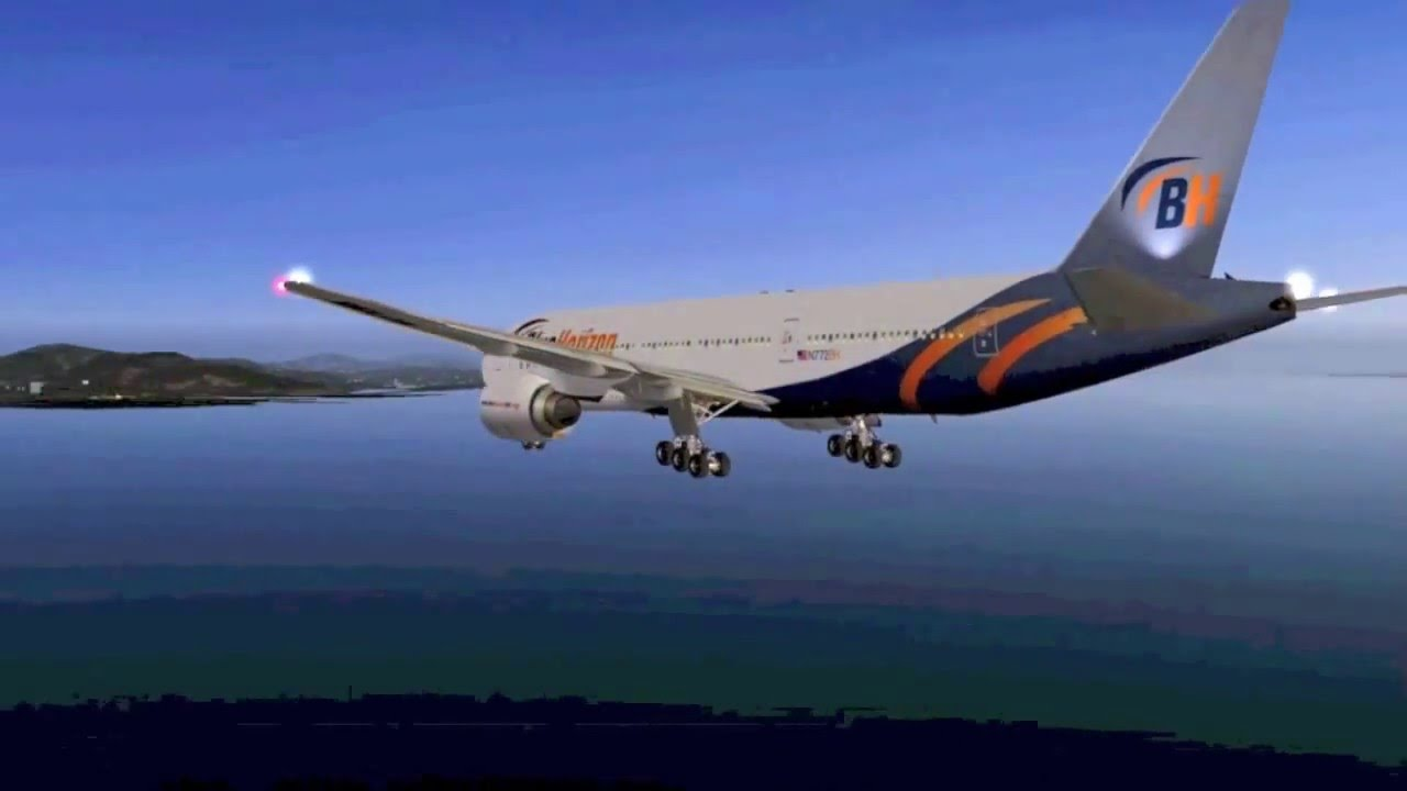 The Best Free Boeing 777-200LR for X-Plane