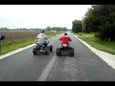 My 250cc China ATV vs 200 cc Honda