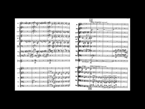 A. Schoenberg - Chamber Symphony No. 1, Op .9 (w/score)