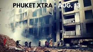 'Hope' dies in Phuket! Rawai building collapse! Condo fire behind mall? || Phuket