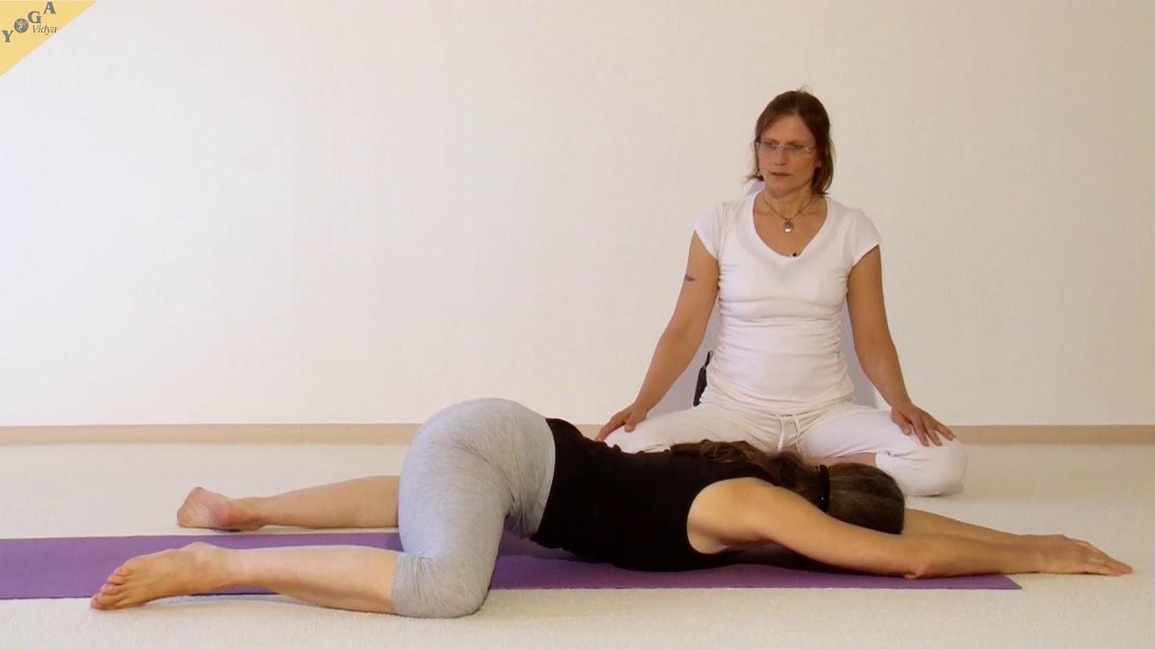 Yin Yoga - Frosch - Einzelne Übung - mit Shanti und Kathie