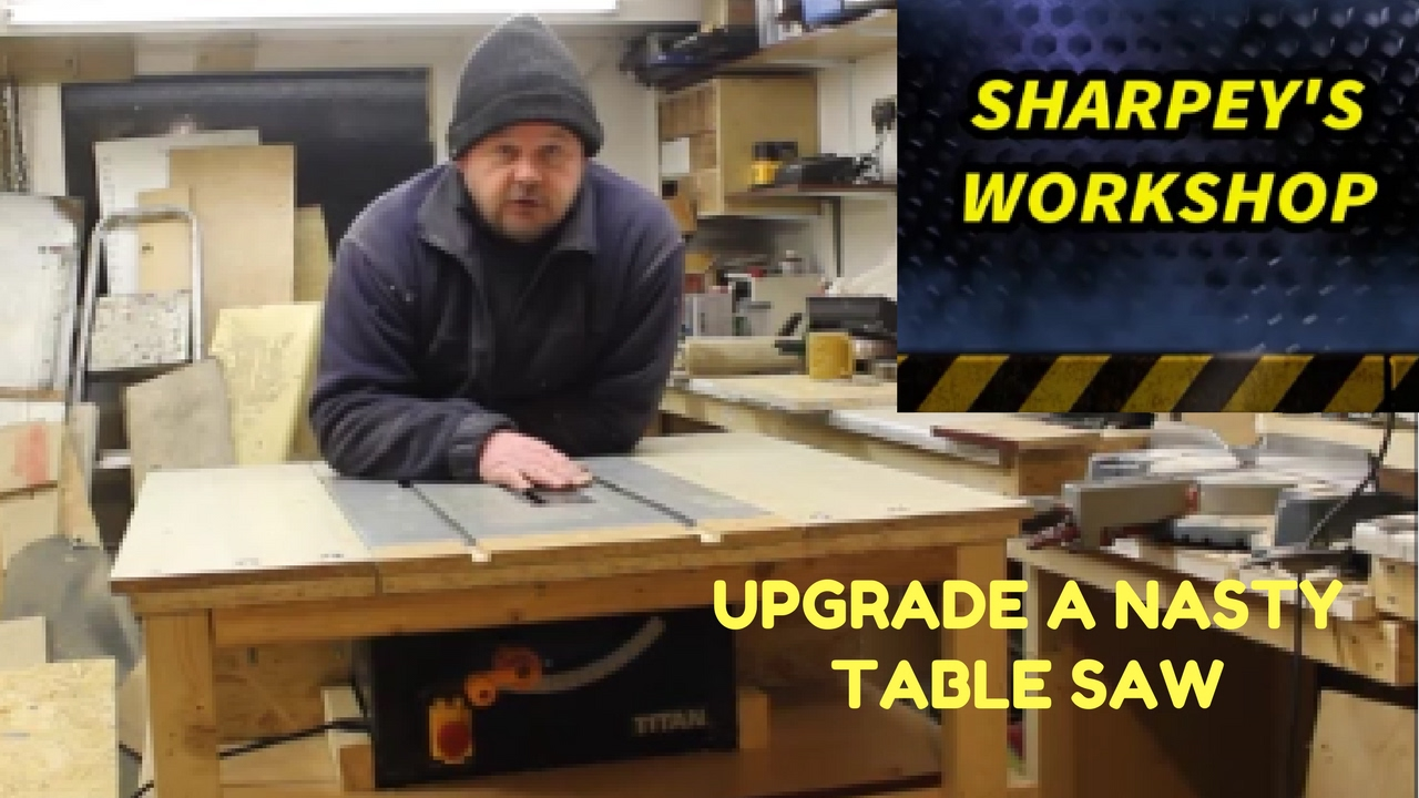 table saw upgrade /station (part 1)