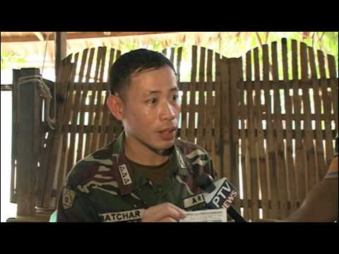 PTV NEWS 6PM Aerial Inspection at Davao and Caraga Region with 10TH Infantry Division (VO)