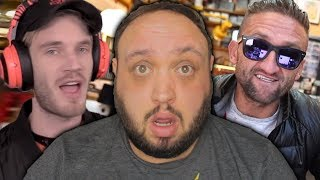 I was Interviewed with PewDiePie and Casey Neistat...here's what happened