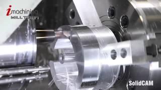 Solid CAM Токарно-фрезерная обработка