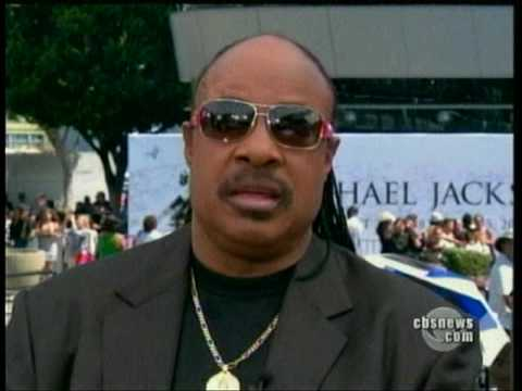 Stevie Wonder Talks about MJ - After the Memorial Service