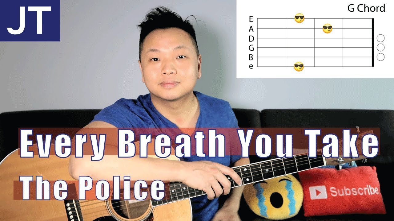 Every Breath You Take The Police Guitar Chords Youtube