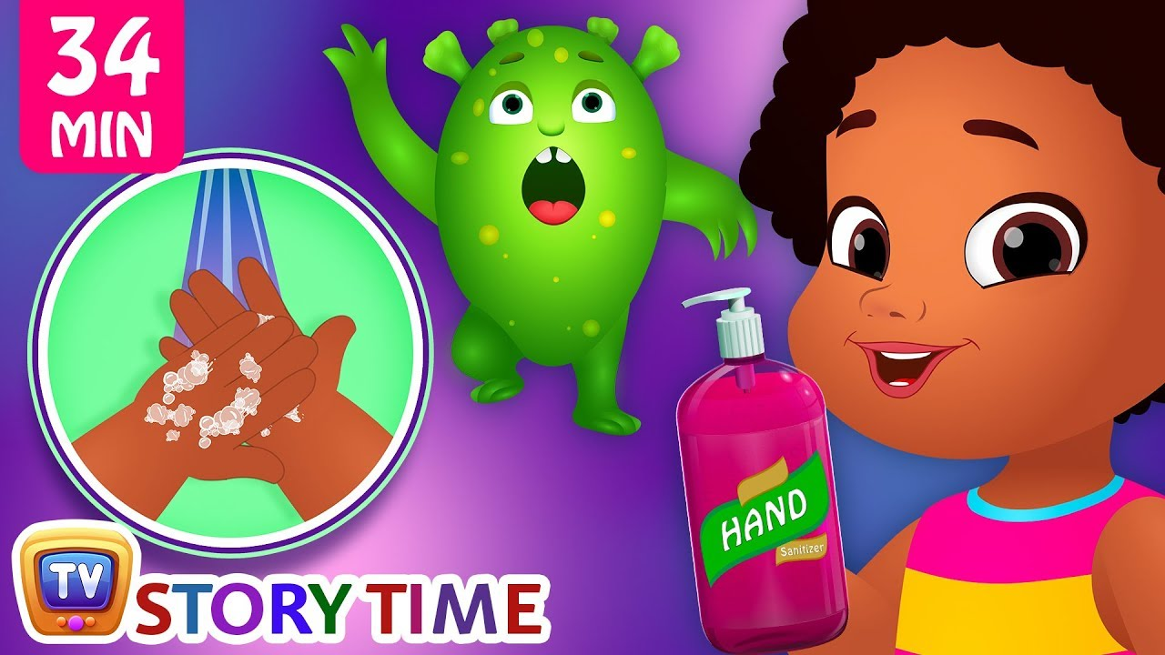 Chiku Learns to Wash her Hands + More ChuChu TV Storytime Good Habits Bedtime Stories for Kids