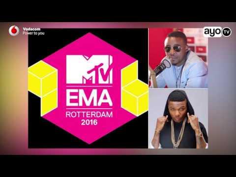 MTV EMA kuichukua tuzo kwa Wizkid na kumpa Alikiba