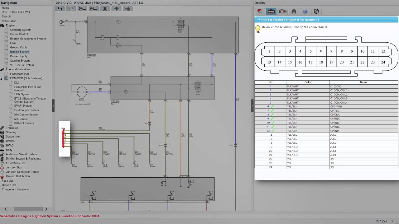 maxresdefault honda wiring diagrams 2012 onwards youtube esi 50l wiring diagram at gsmx.co