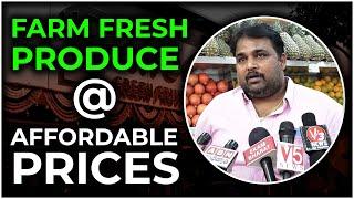 Sivarao Pure O Natural Organizer at Pragati Nagar Pure O Natural Shop inauguration | Hybiz