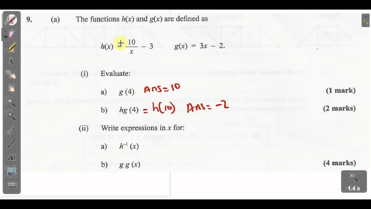 CSEC CXC Maths Past Paper 2 Question 11b January 2014 Exam Solutions. ACT Math, SAT Math,
