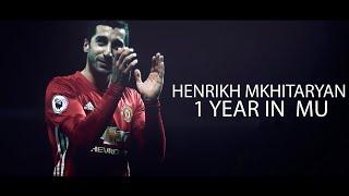 Henrikh mkhitaryan - 1 year in mu
