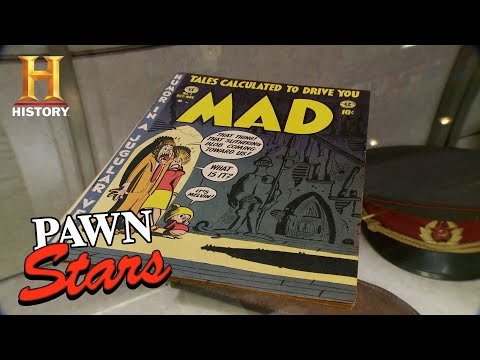 Pawn Stars: Rick Is In Awe By Mad Comic Issue #1 (Season 13)   History