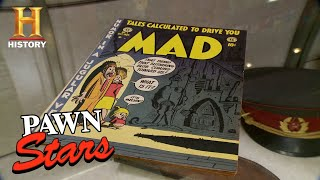 Pawn Stars: Rick is in Awe by Mad Comic Issue #1 (Season 13) | History