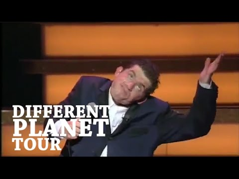 On Planes and Flight Attendants - Lee Evans Live: The Different Planet Tour 1996
