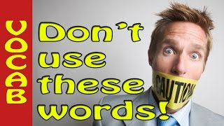 Weak words to avoid in writing - Don't use very it's lazy! Tips to improve academic writing