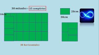 Problema de razonamiento matemático (Número de mayólicas enteras en un piso)