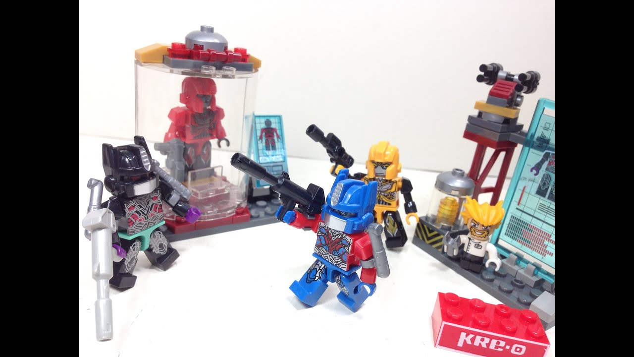 Kre-O Bumblebee Video Review - Transformers