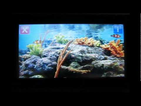 Nokia 5250 App - 3D Aquarium | Free Download
