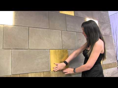 Инновационный материал для оформления стен (Италия)