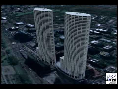 Simulación Torre Titanium Durante El 27/F (alta Resolución)