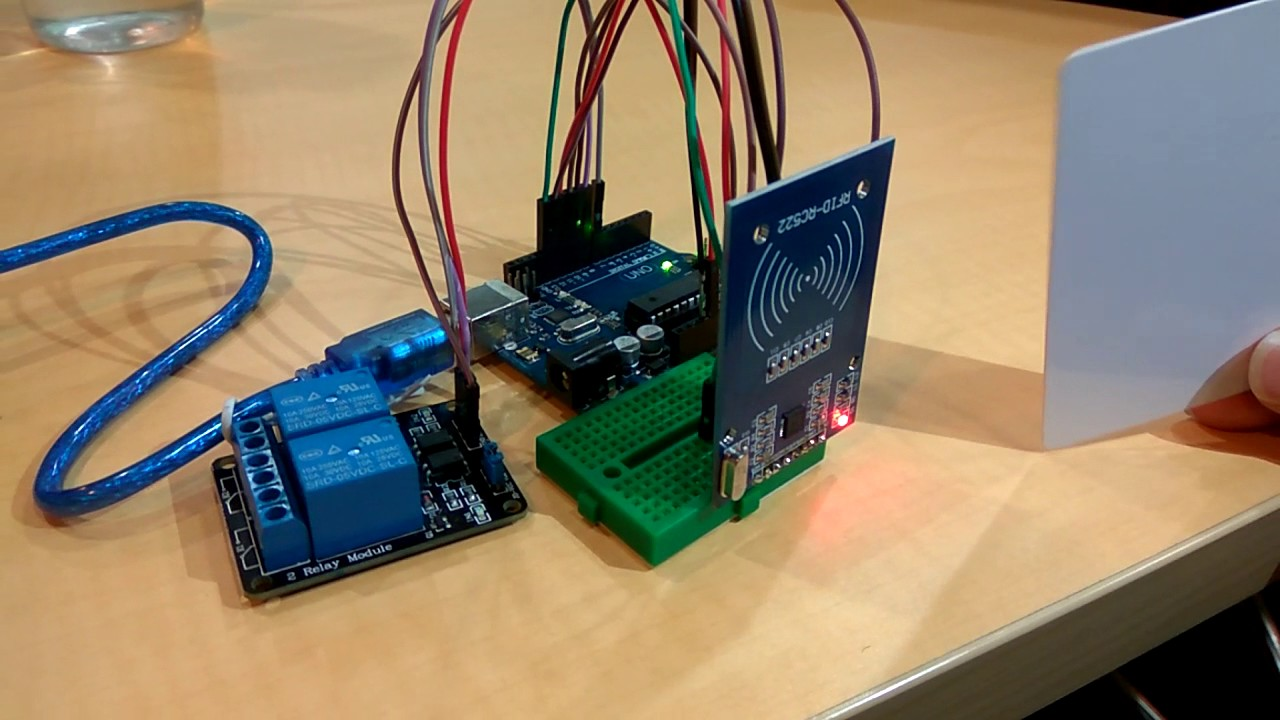 Relay rfid arduino project indonesia by automation all