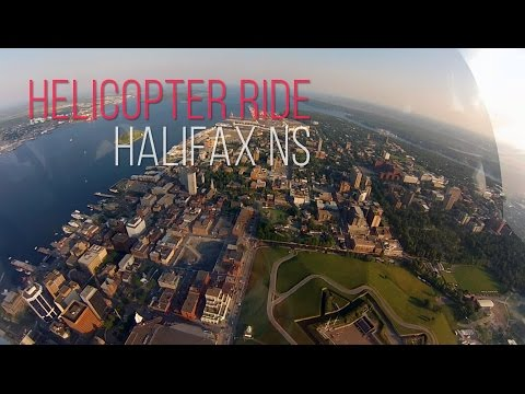 Helicopter Ride Over Halifax Nova Scotia