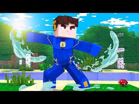 Minecraft: VIRAMOS O AVATAR NO MINECRAFT! ‹  FLASH3  ›
