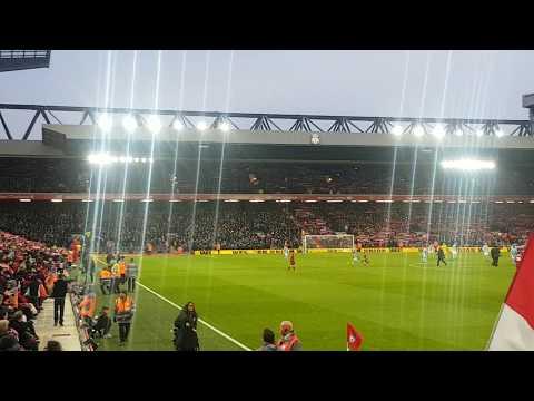 You'll Never Walk Alone - Liverpool vs Man City January 2018
