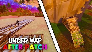 FORTNITE GLITCH *NEW HOW TO GET UNDER THE MAP ANYWHERE* ( Fortnite Season 4 Glitches )