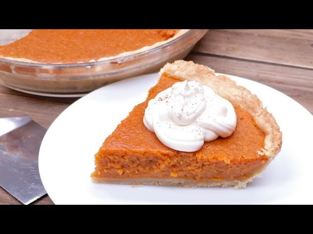 Southern Sweet Potato Pie (Brown Butter)