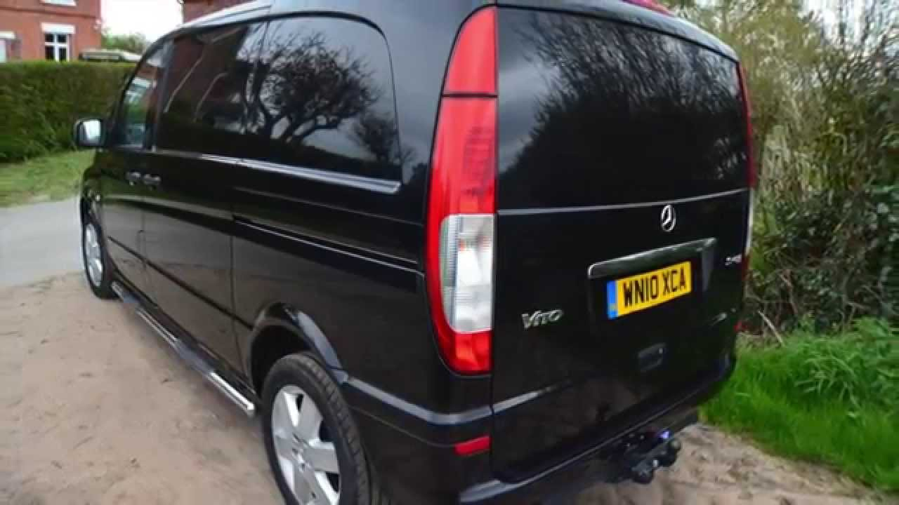 mercedes vito 115 cdi compact van for sale with mikeedge7 youtube. Black Bedroom Furniture Sets. Home Design Ideas