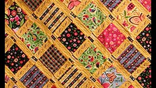 June Mellinger Shows How To Use Embroidery Machines to Quilt on It's Sew Easy (309-1)