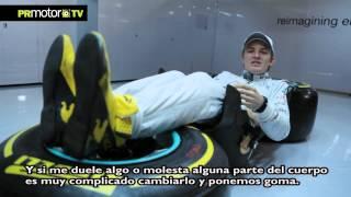 Nico Rosberg nos muestra su butaca en el F1 - Mercedes Petronas AMG F1 Team - PRMotor TV