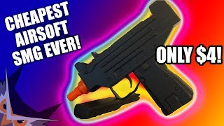 CHEAPEST AIRSOFT SMG EVER | DOUBLE EAGLE M33
