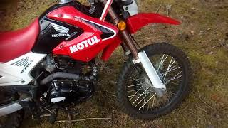 Motoland XR250 enduro  пробег 5000 км