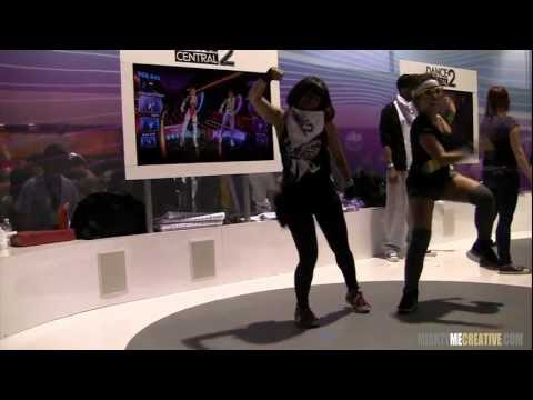 """Dance Central 2 Preview - """"Baby Got Back"""" - w/ Choreographer Chanel Miss5678 @ PAX Prime '11"""